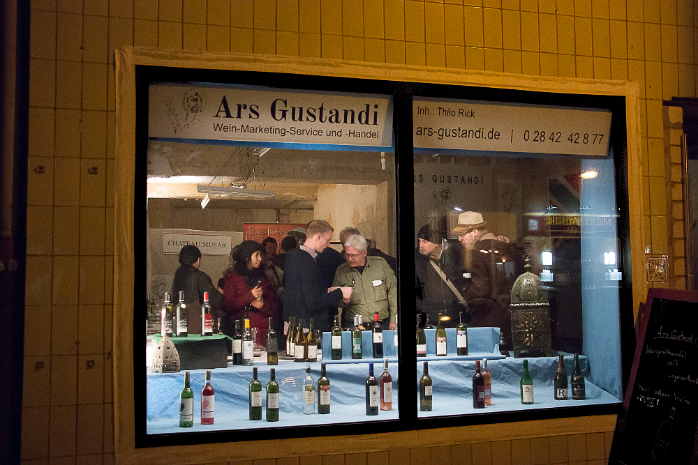Ars Gustandi, Ackerstraße 149a, Flingern at Night 2016